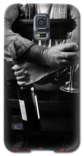Galaxy S5 Case featuring the photograph Little Old Wine Drinker Me by Duncan Selby