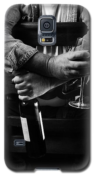 Little Old Wine Drinker Me Galaxy S5 Case by Duncan Selby