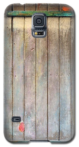 Little Painted Gate In Summer Colors  Galaxy S5 Case by Asha Carolyn Young