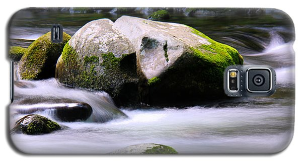 Galaxy S5 Case featuring the photograph Little Piegon River Gatlinburg Tennessee by Jerome Lynch
