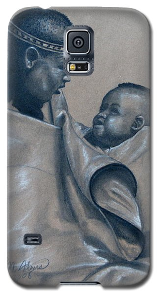 Galaxy S5 Case featuring the mixed media Little Prince by James McAdams