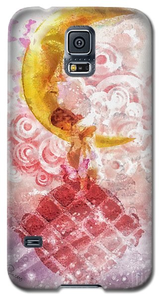 Little Princess Galaxy S5 Case by Mo T