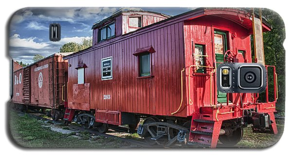 Little Red Caboose Galaxy S5 Case