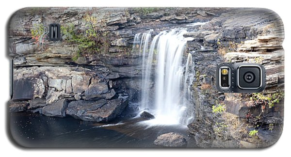 Galaxy S5 Case featuring the photograph Little River Falls by Robert Camp