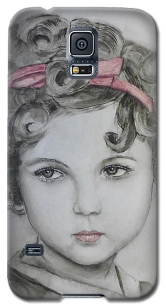 Little Shirley Temple Galaxy S5 Case by Kelly Mills