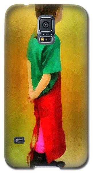 Little Shopgirl Galaxy S5 Case