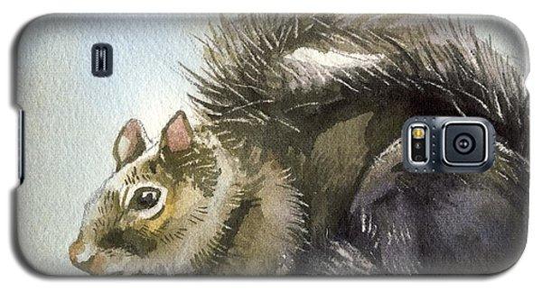 Little Squirrel Watercolor Galaxy S5 Case