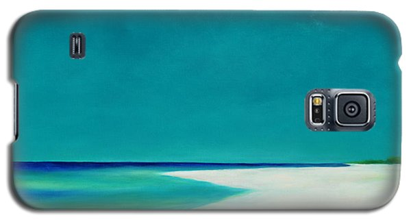 Galaxy S5 Case featuring the painting Little St. George by Pam Talley