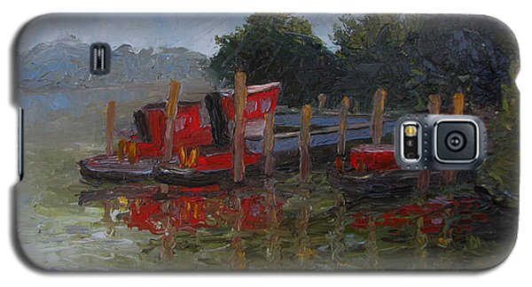 Little Tugs In Holland Michigan Galaxy S5 Case