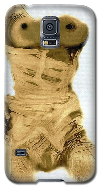 Little Warrior - Female Nude Galaxy S5 Case by Carolyn Weltman