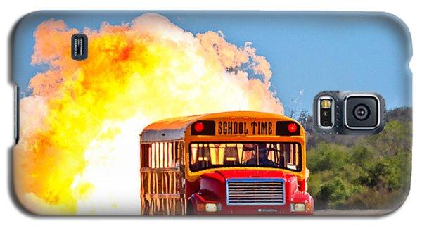 Late For School Galaxy S5 Case by Annette Hugen