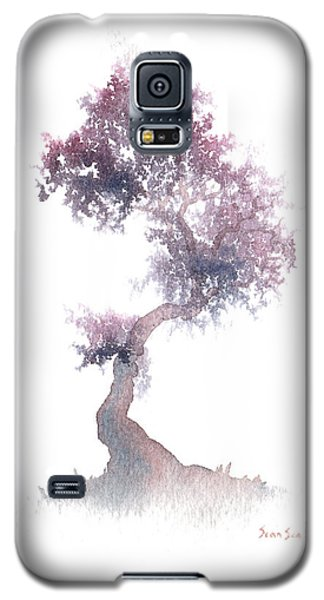 Galaxy S5 Case featuring the painting Little Zen Tree 1508 by Sean Seal