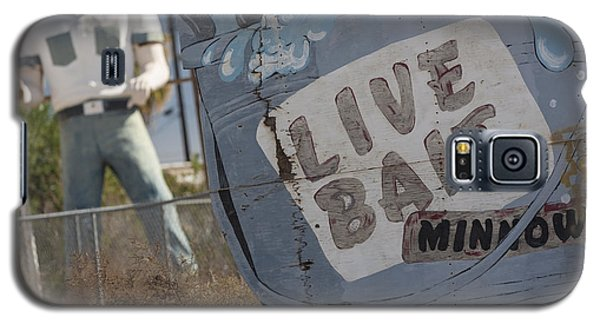 Live Bait And The Man Galaxy S5 Case