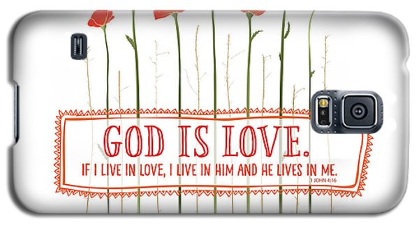 Live In Love Galaxy S5 Case