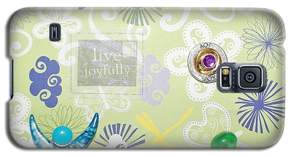 Live Joyfully Galaxy S5 Case