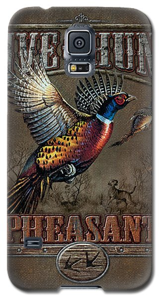 Live To Hunt Pheasants Galaxy S5 Case