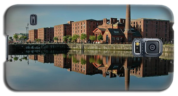 Galaxy S5 Case featuring the photograph Liverpool Canning Docks by Jonah  Anderson