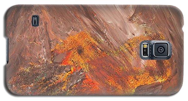 Living Earth-kneeling Buddha Galaxy S5 Case by Susan  Dimitrakopoulos