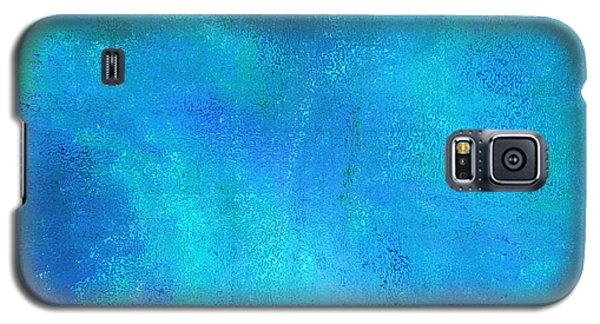 Galaxy S5 Case featuring the photograph Living In A Blue World by Ann Johndro-Collins