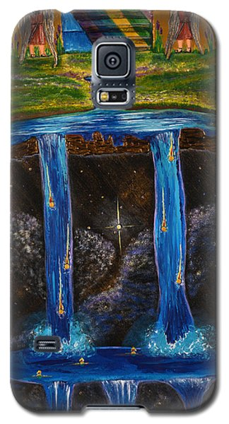 Galaxy S5 Case featuring the painting Living Water by Cassie Sears