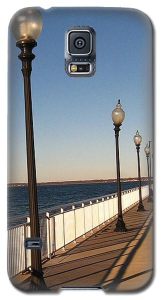 Galaxy S5 Case featuring the photograph Light Lines by Bruce Carpenter