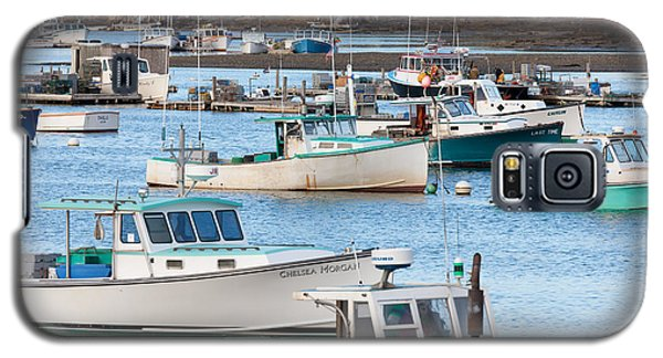 Lobster Boats In Bass Harbor I Galaxy S5 Case