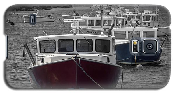 Lobster Boats Selective Color Galaxy S5 Case