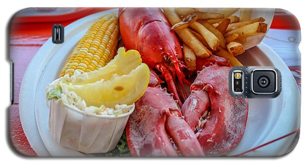 Galaxy S5 Case featuring the photograph Lobster Dinner  by Trace Kittrell