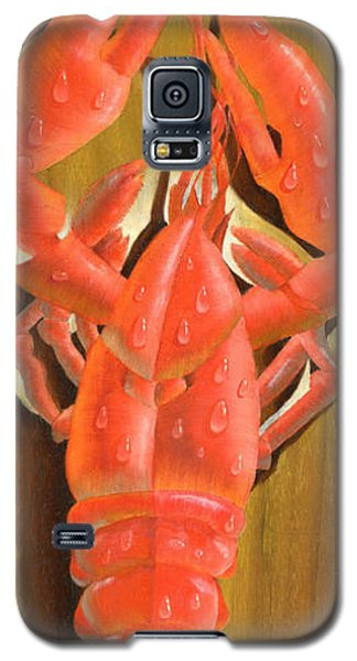 Lobster On A Plank Galaxy S5 Case
