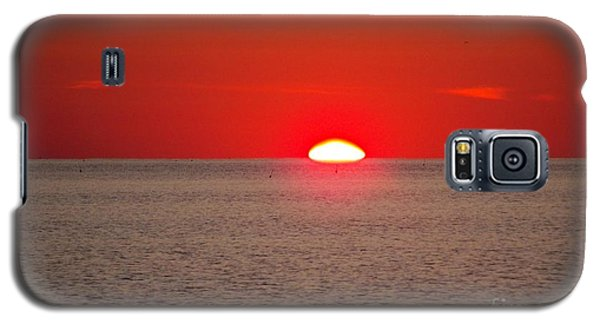 Lobster Pots Dance In The Sea  At Sunrise Galaxy S5 Case
