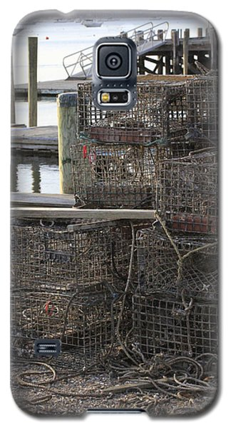 Lobster Pots Northport New York Galaxy S5 Case
