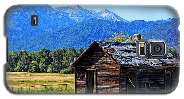 Galaxy S5 Case featuring the photograph Location Location Location Montana by Joseph J Stevens