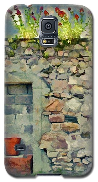 Galaxy S5 Case featuring the painting Location With A View by Jeff Kolker