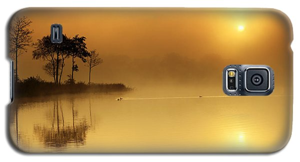 Loch Ard Morning Glow Galaxy S5 Case by Grant Glendinning