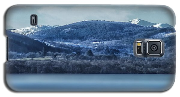 Galaxy S5 Case featuring the photograph Loch Ness Winter Blues by Jacqi Elmslie