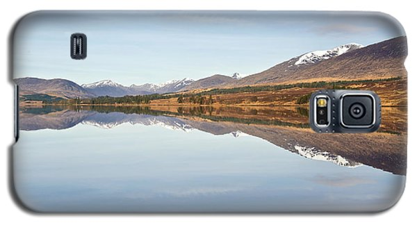 Loch Tulla In Spring Galaxy S5 Case
