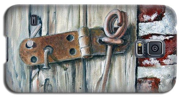 Locked Galaxy S5 Case by Anna-maria Dickinson