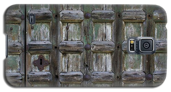 Galaxy S5 Case featuring the digital art Locked Door by Ron Harpham