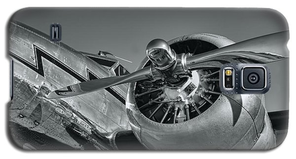 Lockheed 12a Electra Junior  Galaxy S5 Case by Olga Hamilton