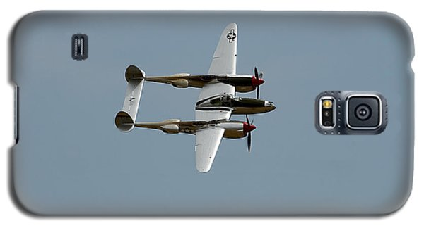 Lockheed P 38 Lightning Galaxy S5 Case by Richard J Cassato