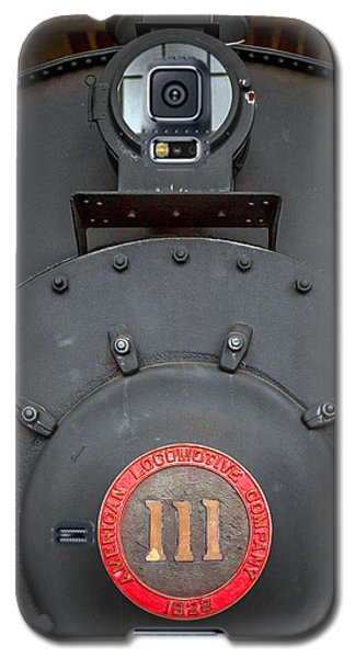 Galaxy S5 Case featuring the photograph Locomotive 111 by Marion Johnson