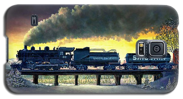 Locomotive In Winter Galaxy S5 Case