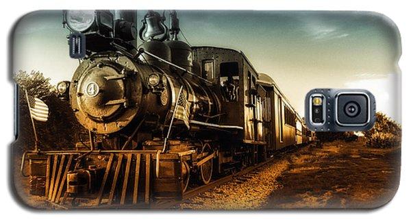 Locomotive Number 4 Galaxy S5 Case
