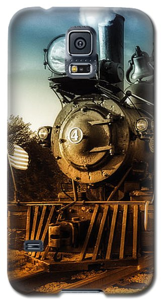 Locomotive Number 4 Galaxy S5 Case