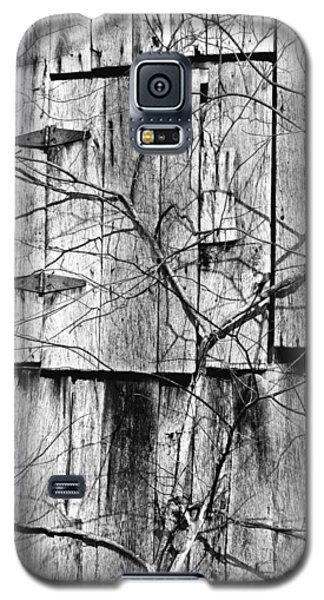 Galaxy S5 Case featuring the photograph Loft Door And Vines by Greg Jackson