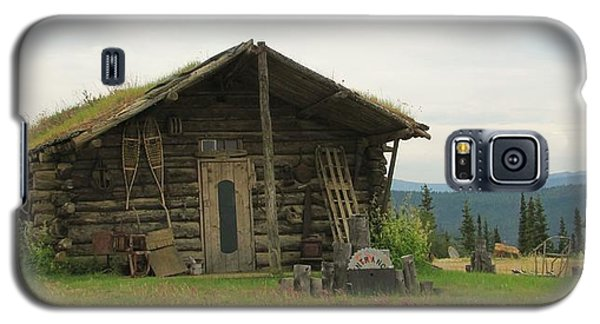 Log Cabin Alaska Galaxy S5 Case