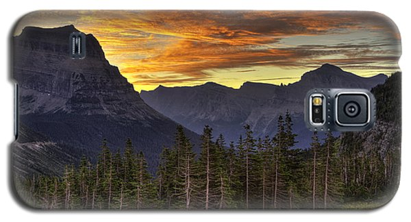 Logan Pass Sunrise Galaxy S5 Case