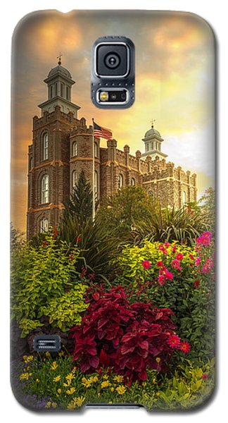 Logan Temple Garden Galaxy S5 Case