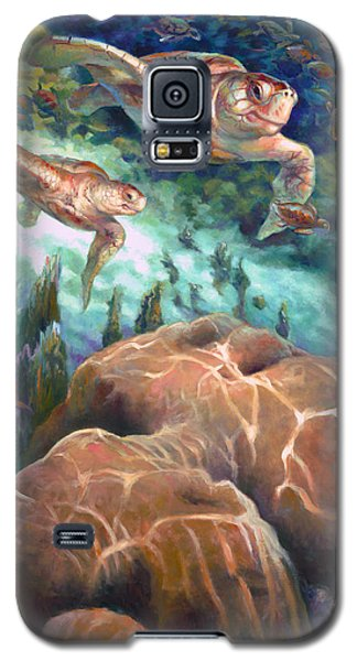 Loggerhead Sea Journey I Galaxy S5 Case