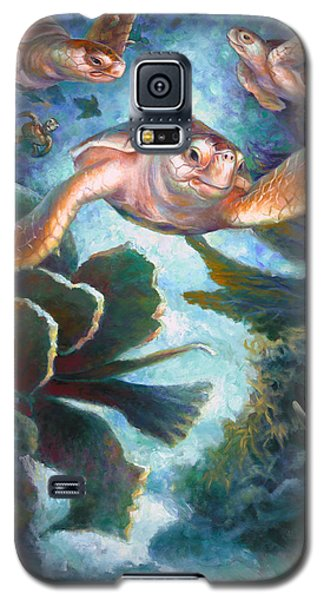 Loggerhead Sea Journey II Galaxy S5 Case
